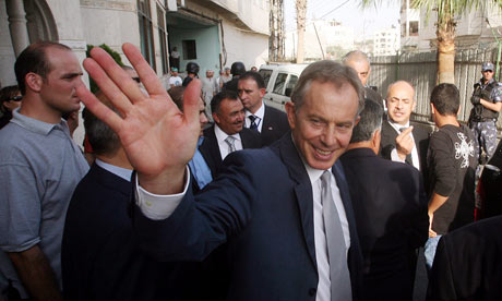 The hand of Tony Blair - 1.