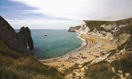 The Jurassic Coast in Dorset, England