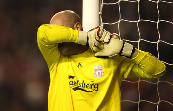 This was a horror show, a hammer blow to their European ambitions and a brutal reminder of how poor Liverpool are without Steven Gerrard and Fernando Torres   Henry Winter