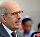 IAEA director general Mohamed ElBaradei