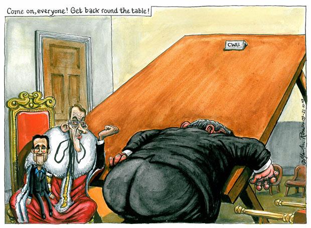 23.10.09: Martin Rowson on the postal strike