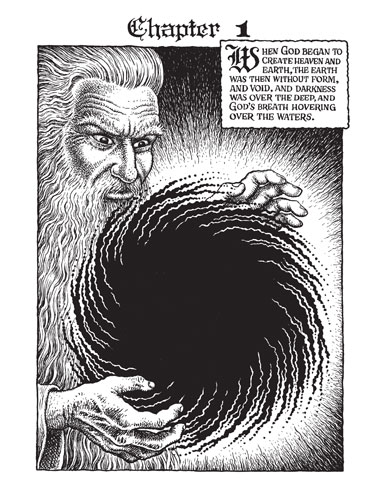 A First Look At Robert Crumb S The Book Of Genesis Books