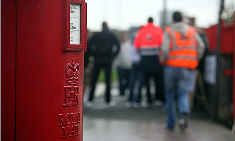 Royal Mail Postal Workers Hold A Two Day Strike Over Pay And Conditions