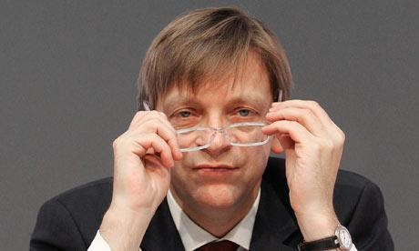 Belgium's former leader Guy Verhofstadt