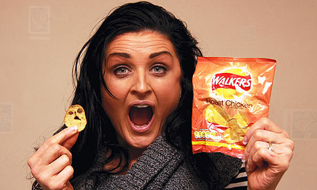 Katie Corcoran with the scary crisp