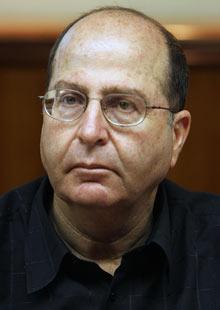 Israeli strategic affairs minister Moshe Ya'alon