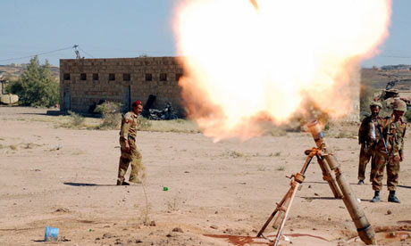 Yemeni army launch an attack Shiite Houthi rebels