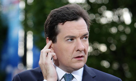 Goerge osborne at Tory Party Conference 2011