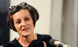 Nobel Prize for Literature winner Herta Mueller