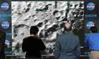 LCROSS impact : People watch the twin impacts on the moon at an event held by NASA in Washington DC