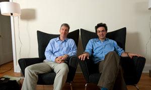 Steven Levitt and Stephen Dubner.