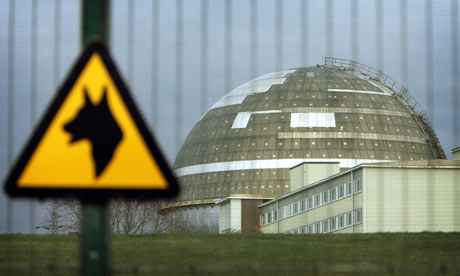 Sellafield nuclear power plant in West Cumbria