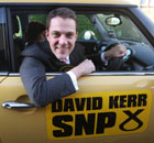 David Kerr, SNP candidate for the Glasgow North East byelection