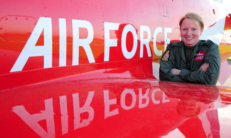 First female joins the Red Arrows, Flight Lieutenant Kirsty Moore