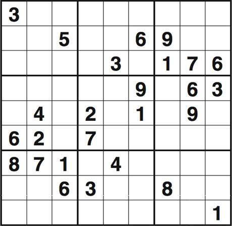 Obs sudoku