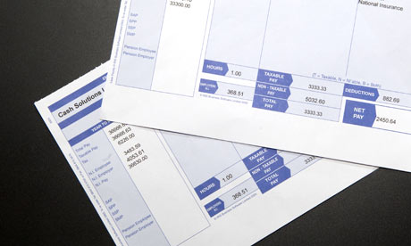 payslip template printable .