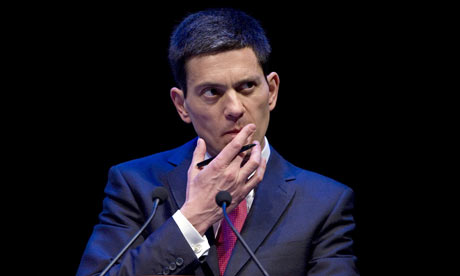 David Miliband addresses the Nato parliamentary assembly in Edinburgh on 17 November 2009.