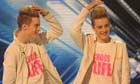 X Factor's John and Edward
