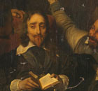 Delaroche's Charles I Insulted by Cromwell's Soldiers