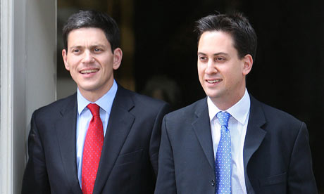 David and Ed Miliband in 2007.