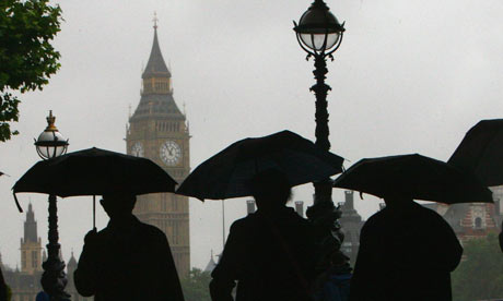 Umbrellas and Big Ben