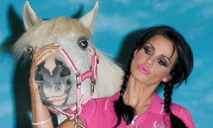 Katie Price launches her range of KP Equestrian clothing, London,Britain - 3 Sep 2008