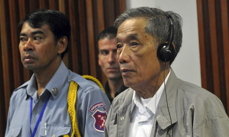 Khmer Rouge chief torturer and jailer Kaing Guek Eav, better known as Duch