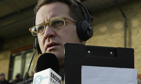 BBC Radio Five live's Mark Pougatch