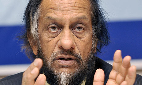 Rajendra Pachauri, chairman of the IPCC