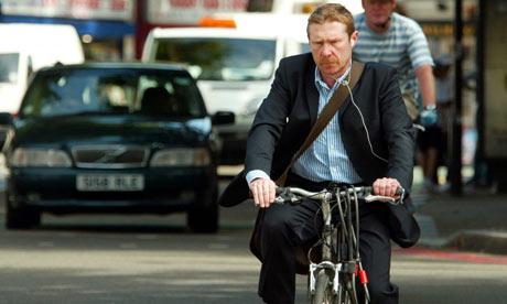zombie cyclist with iPod