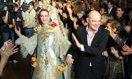 Christian Lacroix Haute Couture collection finale 2009