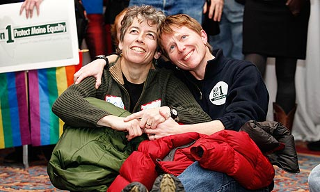 Maine voters today repealed a state law that would have allowed gay couples ...