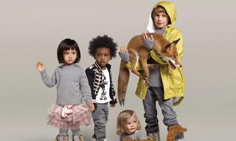Stella McCartney's fashion range for Gap Kids.
