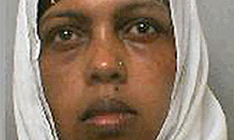 Faiso Sahil, 35, who was jailed for killing her unborn twins