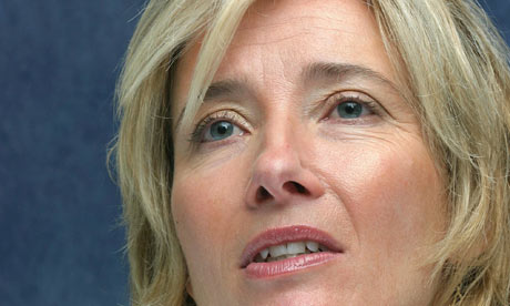 Emma Thompson urges against racism and intolerance