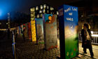 Painted dominos in central Berlin