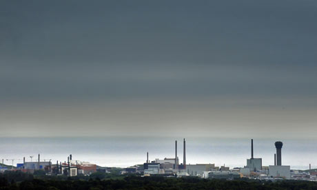 Sellafield Nuclear power station and Thorp nuclear reprocessing plant in West Cumbria