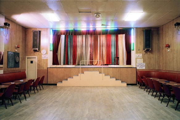 The New Lansdowne Club stage