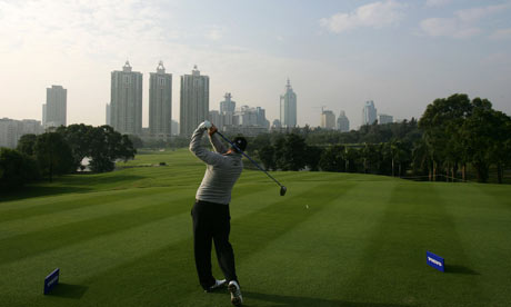 China golf