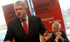 Carwyn Jones (left) has taken over as Welsh Labour leader from Rhodri Morgan (right).