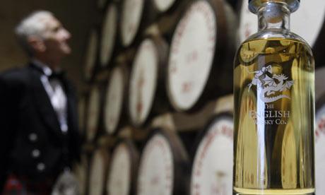 St George's single malt whisky, made in Norfolk, England