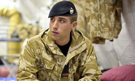 An openly gay soldier in Afghanistan has spoken about the support and ...