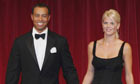 Tiger Woods and his wife, Elin, attend a gala dinner in Dublin in 2006