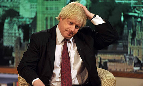 Boris Johnson appears on The Andrew Marr Show on BBC1.