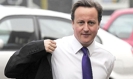 David Cameron, the Conservative party leader