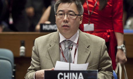 Su Wei, head of China's climate change department
