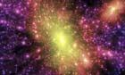 Dark matter distribution simulation