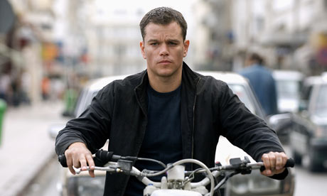 Matt Damon in The Bourne Ultimatum.
