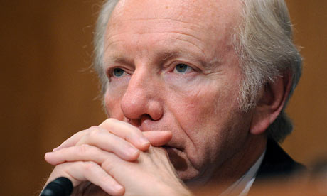US Senator Joe Lieberman, Nov 19, 2009