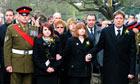 Lance Corporal Adam Drane funeral